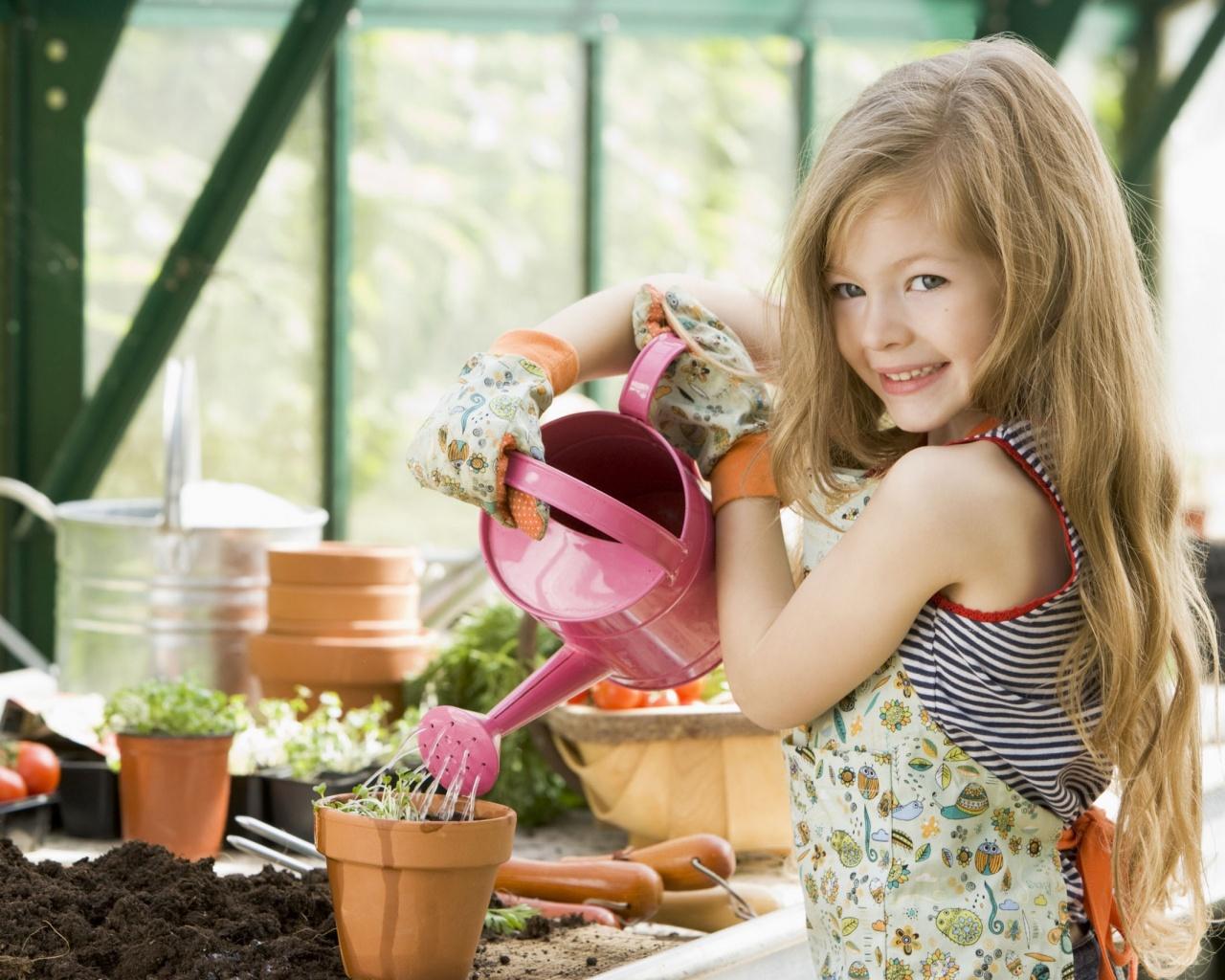 Детские фантазии цветов